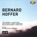 Bernard Hoffer violin piano english horn concerto, Elmar Oliveira, Randall Hodgkinson, Thomas Stacy, RT� NSO, Richard Pittman